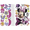 Roommates muursticker Minnie Bow-tique