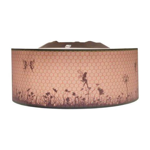 Juul Design plafonniere elfjes oud roze