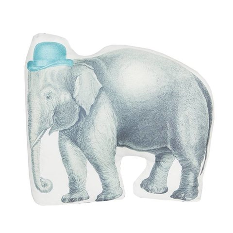 RJB Stone kussen olifant met hoed