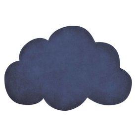 Lilipinso Lilipinso vloerkleed wolkjedonkerblauw true navy