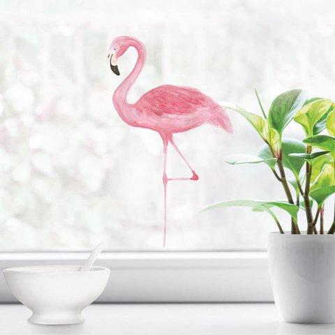 Nouvelles Images raamsticker flamingo