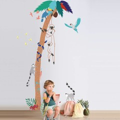 Tropische en zomerse kinderkamer accessoires