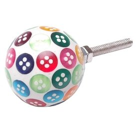 La Finesse La Finesse kastknopje knoopjes multikleur