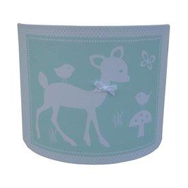 Juul Design Juul Design wandlamp hertje Forest Friends zeeblauw