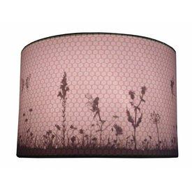 Juul Design Juul Design kinderlamp silhouette elfjes oud roze