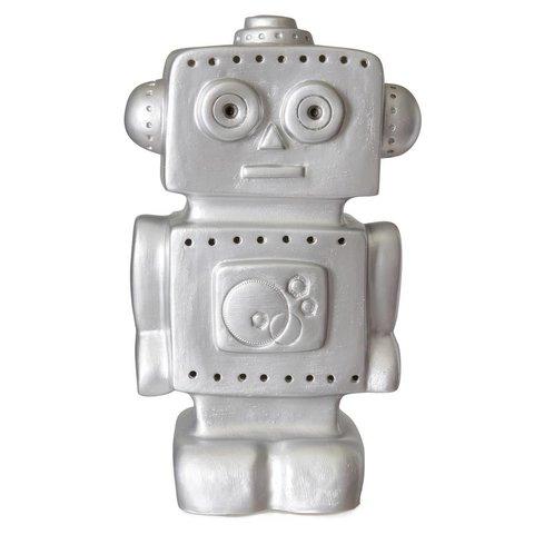 Heico lamp robot zilver
