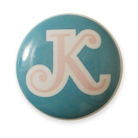 Aspegren deurknopje kinderkamer letter K