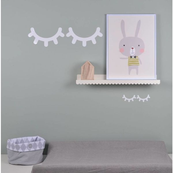 Eina Design Land of kids muursticker Sleepy Eyes wit