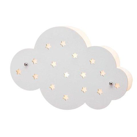 Kidsconcept wandlamp wolk wit