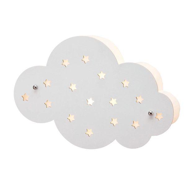 Kidsconcept Kidsconcept wandlamp kinderkamer wolk wit