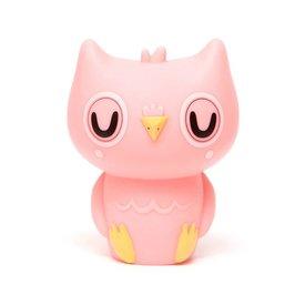 Petit Monkey Petit Monkey nachtlampje uil roze peachy pink