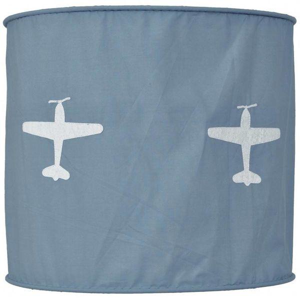 Taftan Taftan hanglamp vliegtuig grijs blauw
