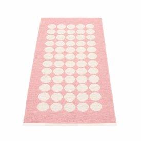 Pappelina Pappelina plastic vloerkleed Fia roze