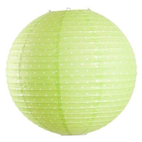 Farg & Form kinderlamp stippen groen