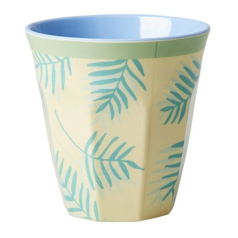 Rice melamine beker Palm Leaves
