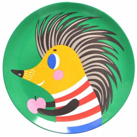 Petit Monkey melamine bord egel groen