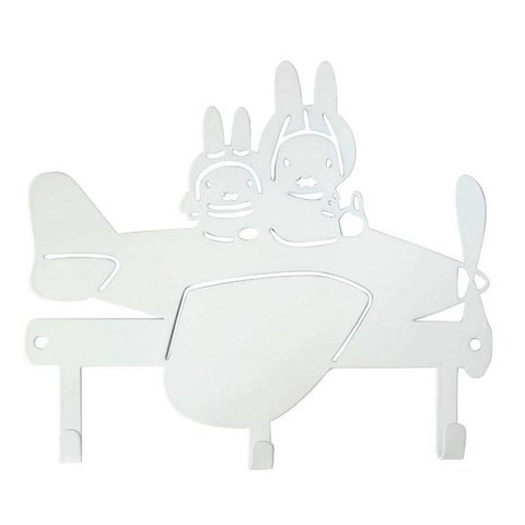 Kinderkapstokje Nijntje vliegtuig wit
