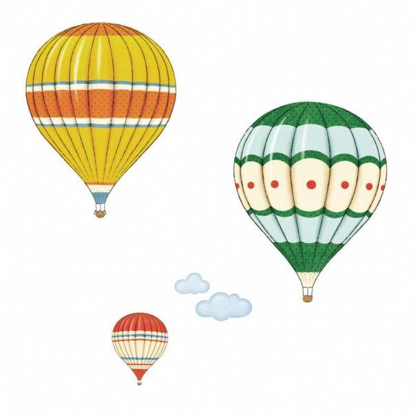 Decowall Decowall muursticker heteluchtballonnen