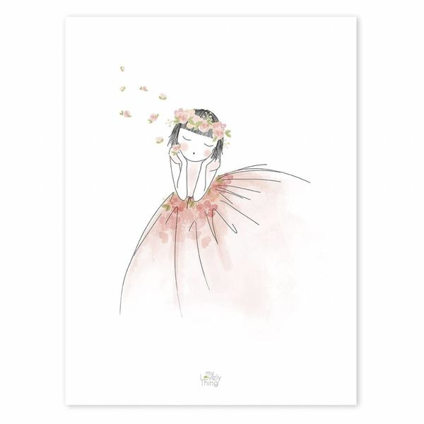 Lilipinso Lilipinso poster meisje Reveries