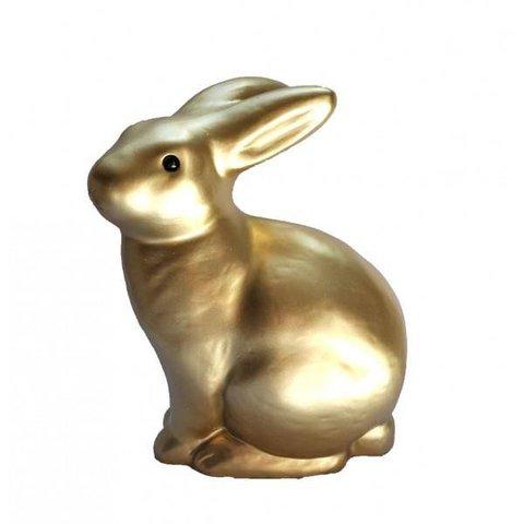 Figuurlamp klein konijntje goud