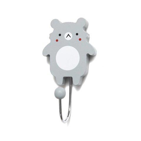 Petit Monkey kapstokje koala beer grijs