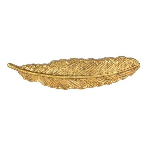 Deurknop veer goud