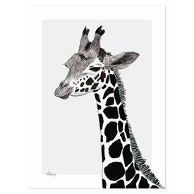 Lilipinso Lilipinso poster kinderkamer giraffe