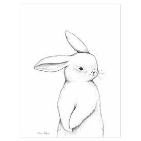 Lilipinso Lilipinso poster kinderkamer konijn