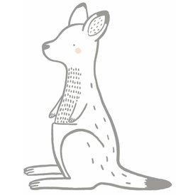 Lilipinso Lilipinso muursticker kangoeroe