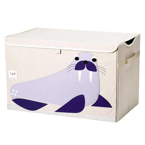 3 Sprouts speelgoedkist walrus