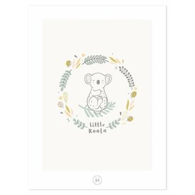 Lilipinso Lilipinso poster kinderkamer koala beer