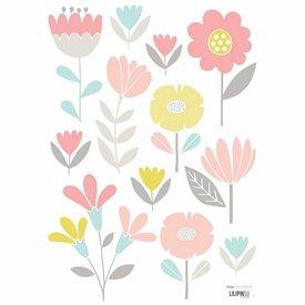 Lilipinso Lilipinso muursticker bloemen