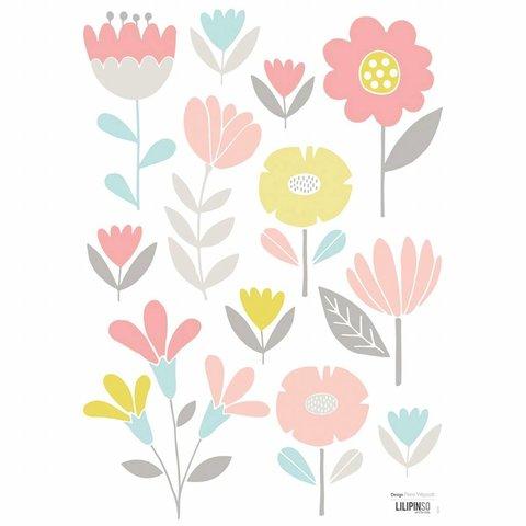 Lilipinso muursticker bloemen