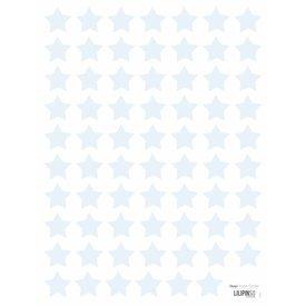 Lilipinso Lilipinso  muurstickers sterren mini  lichtblauw