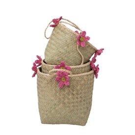 rice Denmark Rice ophangmanden met roze bloemen