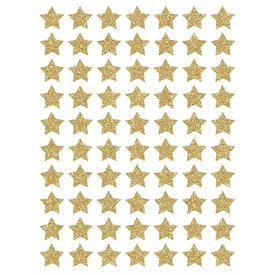 Lilipinso Lilipinso  muurstickers sterren mini  goud glitter