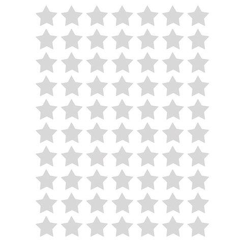 Lilipinso  muurstickers sterren mini  grijs