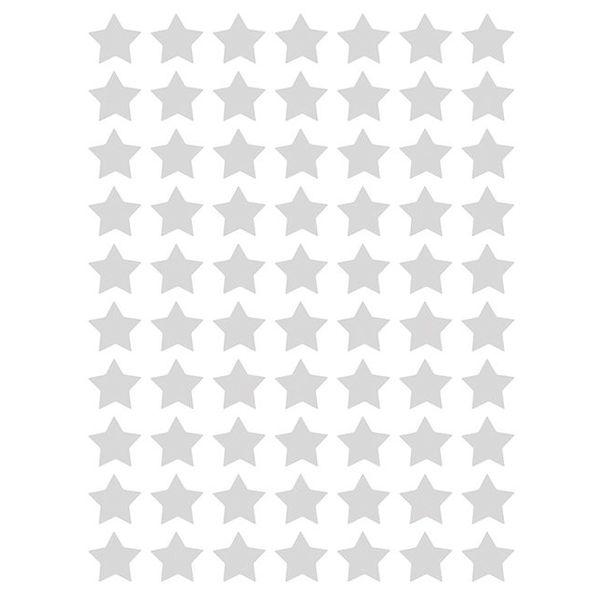 Lilipinso Lilipinso muurstickers kinderkamer sterren mini grijs