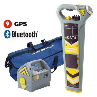 Radiodetection gC.A.T4+ kabeldetector met GPS en diepte indicatie  SET