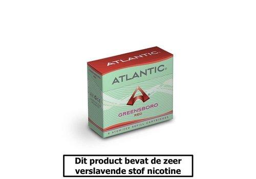 Atlantic Greensboro Red - 8 Cartomizers