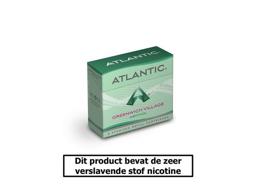 Atlantic Greenwich Village Menthol - 8 Cartomizers