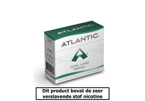 Atlantic Iceland Menthol Cartomizers - 8 Cartomizers