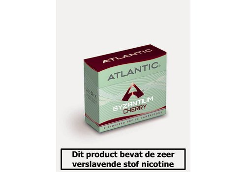 Atlantic Byzantium Cherry - 8 Cartomizers