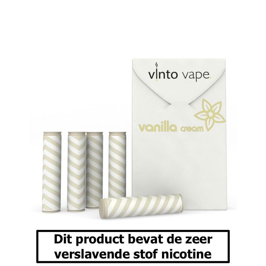 Vanillecreme cartomizers - 0mg-1