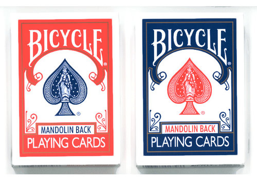 Bicycle Poker Playing Cards - Mandolin