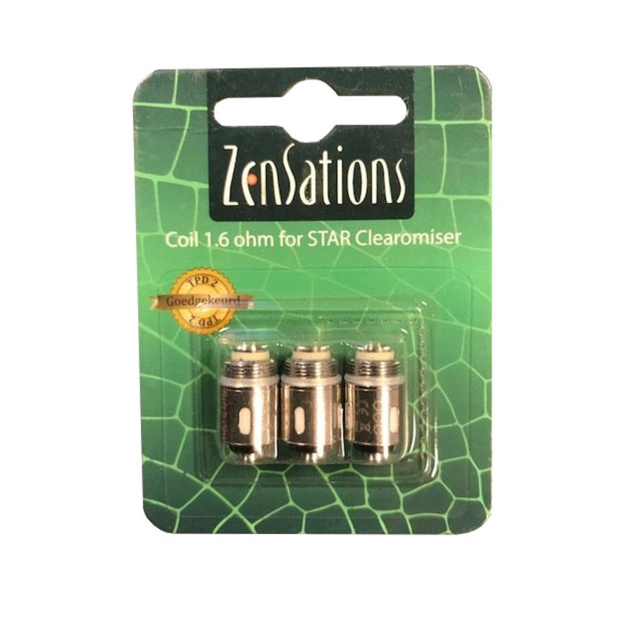 STAR 1.6 Ohm Ceramic Coils