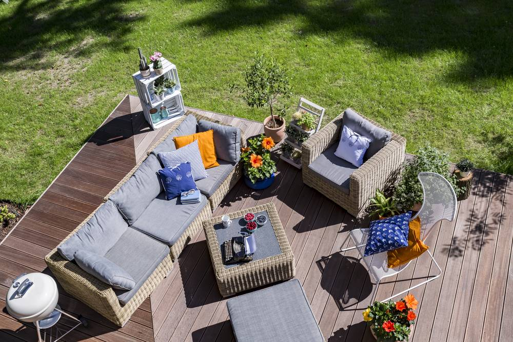 Make a lovely lounge area of your garden