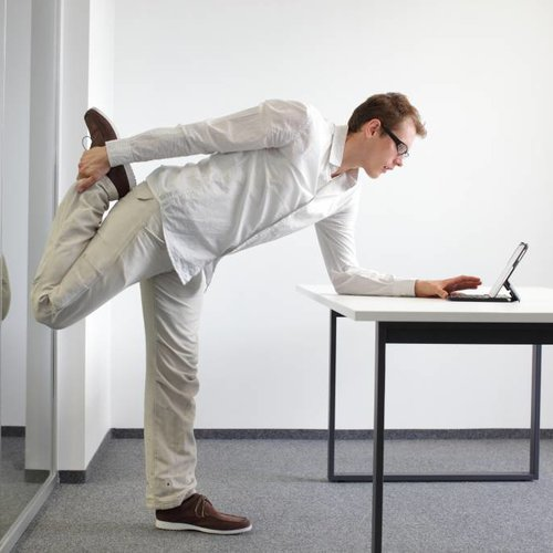 7 Stretch exercises for a sedentary job