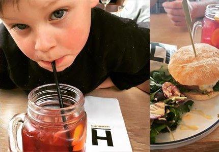 HAMBURGERS & LITERS ICE TEA IN HEIST OP DEN BERG