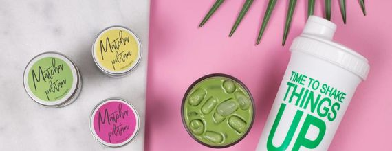 Flavored Matcha for Latté's